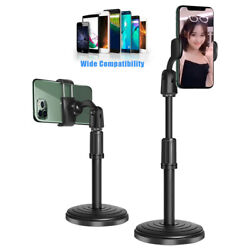 360° Adjustable Desktop Stand Desk Holder Stabilizer For Cell Phone Universal $11.99