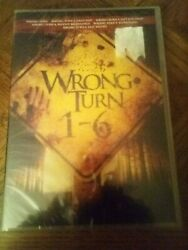 wrong turn 1-6 dvd collection brand new $24.00