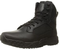 Under Armour 1289001 Men#x27;s UA Stellar 8quot; 2E Wide Tactical Duty Leather Boots $77.99