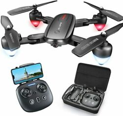 T5 Foldable GPS Drone w 4K Camera RC Quadcopter with GPS Return Home 5G Wifi $74.99