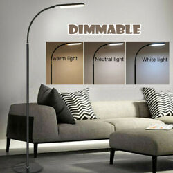 LED Floor Adjustable Lamp Light Standing Reading Home Office Dimmable Desk Table $41.99