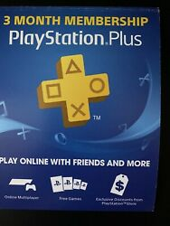 PlayStation Plus 3 Month ⚡DIGITAL CODE⚡ PS4 PS3 Vita FAST DELIVERY $16.00