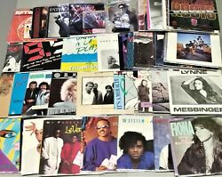 1980's Vinyl Records w Picture Sleeves 250 Choices #3 7