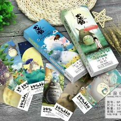 Totoro Comic Bookmark Novelty Animals Bookmarks Gift Stationery Cute Kawaii 32pc $9.19