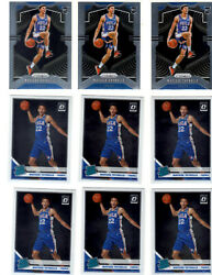 Matisse Thybulle 2019-20 RC Lot Of 9 (3 Prizm, 6 Optic) $2.99