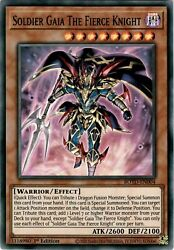 Soldier Gaia The Fierce Knight ROTD EN004 Yugioh 1st Return of Duelist Mint $1.00