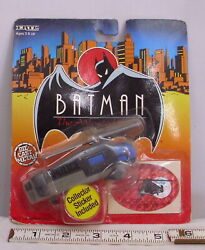 BATMAN THE ANIMATED SERIES GOTHAM CITY POLICE HELICOPTER TOY ON CAR ERTL $8.49