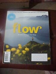 FLOW Magazine Feb/March 2020 with Free Illustrated Notebook VGC $12.00