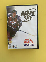 NHL 98 (Sega Genesis 1997) Complete With Game Case and Instruction Manuel $12.00