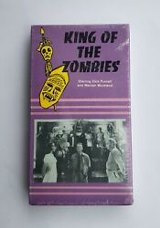 UAV VHS King Of The Zombies 1986 Horror Cult Mantan Moreland Dick Purcell HTF $12.99
