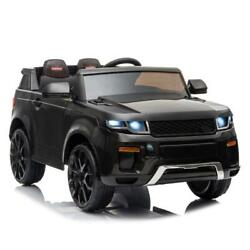 12V Electric Kids Ride On Car Truck Toy w Remote Control for 3 to 8 Years Black $153.88
