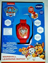 Nickelodeon Paw Patrol Marshall Learning Watch By Vtech quot;NEWquot; $15.00