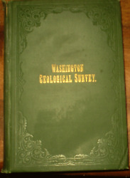 GEOLOGY WASHINGTON STATE 1902 GEOLOGICAL SURVEY ANNUAL REPORT VOLUME 1 MINING $30.00