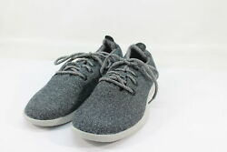 Allbirds Men#x27;s Wool Runners Natural Grey Grey Sole Comfort Shoes NW OB $39.99