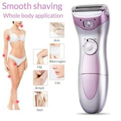 Electric Women Ladies Bikini Trimmer Body Hair Removal Wet Dry Shaver Epilator $13.69