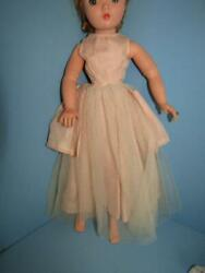 1950#x27;S PINK FORMAL FOR CISSY DOLL OR SIMILAR SIZE DOLLS $19.99
