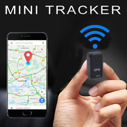 Magnetic GF07 Mini GPS Real Time Car Locator Tracker GSM GPRS Tracking Device US $8.94