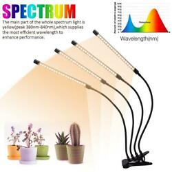 LED Grow Light Plant 4 Head Growing Lamp Lights for Indoor Plants US $24.98
