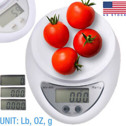 Digital Kitchen Food Cooking Scale Weigh in Pounds Grams Ounces and KG USA $7.99