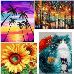 Paint by Numbers DIY Canvas Oil Painting Kit Wall Decor For Beginners 40x50cm $9.86