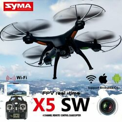 RC Drone Quadcopter With HD Camera FPV WiFi Headless Mode APP Video Recording $38.99