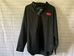 Rubbermaid Commercial Products Mens Button Down Shirt Size XL
