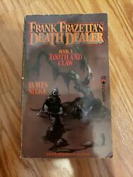 DEATH DEALER #3 TOOTH AND CLAW By James R. Silke horror fantasy PB Rare $22.50