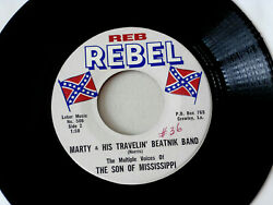 SON OF MISSISSIPPI MARTY amp; HIS TRAVELIN BEATNIK BAND JOINING THE BIG NOVELTY $19.99