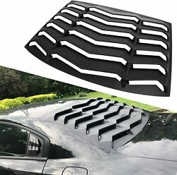 Rear Window Louver Windshield Cover GT Lambo Style for 2011 2021 Dodge Charger