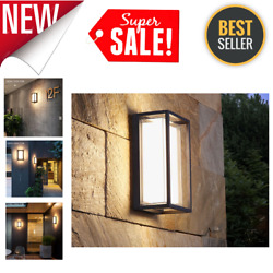 Waterproof LED Aluminum Garden Wall Lamps Modern Outdoor Lighting Highly Durable $120.39