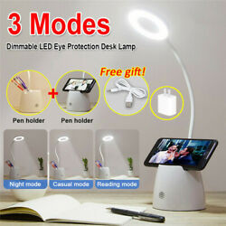 LED Desk Light Bedside Reading Lamp Dimmable Rechargeable Table Touch Control US $14.95