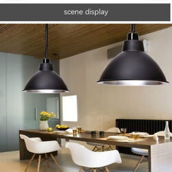 Modern Industrial Pendant Light Hanging Ceiling Metal Shade Loft Lamp Fixtures $19.50