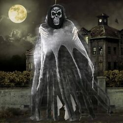 Large Halloween Prop Decoration Hanging Ghost Scary Haunted House Party Supplies $17.99