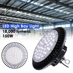 4x 150W LED UFO High Bay Light Factory Warehouse Industrial Commercial Lighting