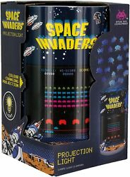 Space Invaders Projection Night Light Color Changing Wall Light Licensed NIB $10.99