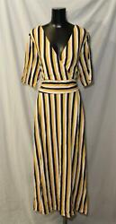 Boden Women#x27;s Long Kassidy Jersey Midi Dress SC4 Tuscan Sun Size US:20 22 UK:22 $44.99