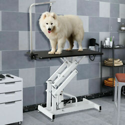 55quot;x 24quot; Electric Dog Pet Grooming Table Ergonomic Table w Clamp and Noose $370.99