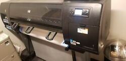 60quot; HP DesignJet Z6100ps Q6654A Large Wide Format Inkjet Plotter Printer $1000.00