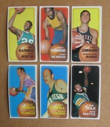 1970 71 TOPPS BASKETBALL CARD SINGLES COMPLETE YOUR SET PICK CHOOSE $14.99