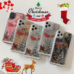 Christmas Tree TPU Quicksand Case Cover For iPhone 11 Pro SE 2020 XR 6s 7 8 Plus $8.49