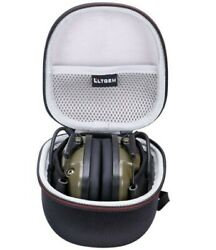 Protection Case Electronic Ear Muffs Noise Cancelling Impact Shooting Shockproof $15.99