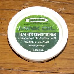 Cadillac Mink Oil leather amp; vinyl conditioner clean protect waterproof 8 oz $11.75