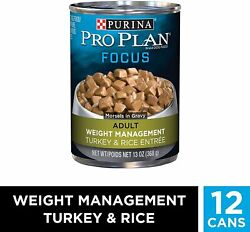 Purina Pro Plan Weight Management Adult Dry Dog Food amp; Wet Dog Food $26.68