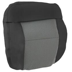 For 2004 05 2006 Ford F 150 XLT F150 Driver Side Bottom Cloth Seat Cover Gray $85.50