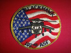 US Army 102nd Air Support Facility ASF Helicopter BLACKHAWK Patch $14.95