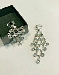 AVON NOS NEW OLD STOCK CHANDELIER CLIP EARRINGS $5.50