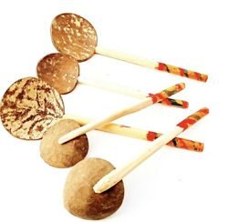 Ceylon Coconut Shell Spoon Natural Kitchen Tools High QualityTraditional $9.49