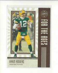2020 Panini Legacy For the Ages #7 Aaron Rodgers Packers $1.99