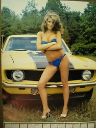 New Rare Collectable Autobuff Poster Set Bikini and topless Models $19.99