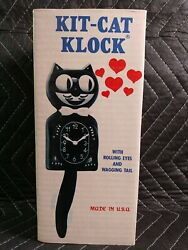 VINTAGE KIT CAT KLOCK UN USED NOS New from Old Stock $299.95